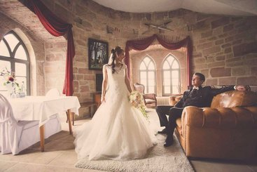 Hochzeitslocation Schlossberg Turmzimmer