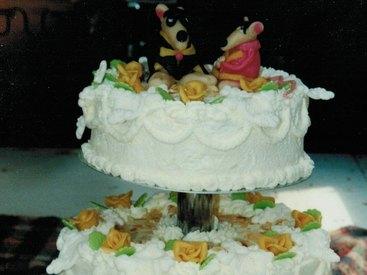 Das Hochzeitspaar als Symbol für Kosenamen