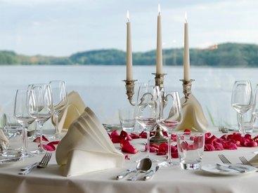 Hotel Der Seehof Hochzeitsdekoration