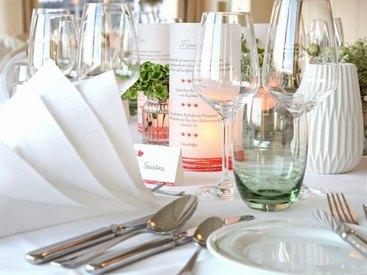 Hotel Der Seehof Tischdekoration