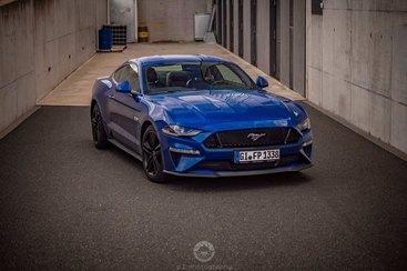 Ford Mustang GT 2019 - das besondere Hochzeitsauto
