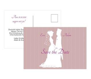 Save the Date Karten für Ihre Hochzeit - Geben Sie Ihren Gästen Bescheid - Mit den Drucksachen von heiraten.de