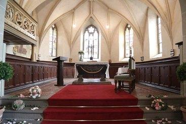 Hochzeitslocation Schloss Braunfels - Schlosskirche