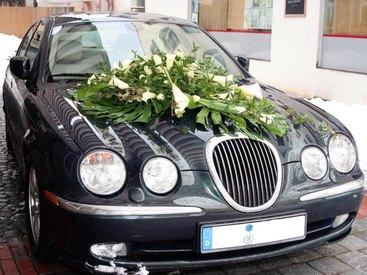 Auf dem Weg in Ihre Hochzeit ...