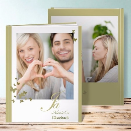 Gästebuch - Erinnerungen von Ihrer Hochzeit