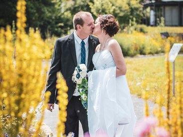 MV-Grafik: Das Brautpaar