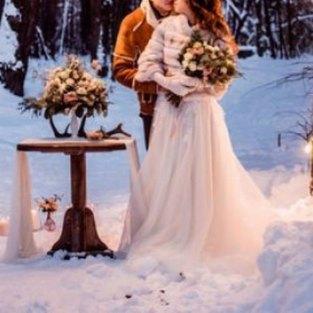 Traumhafte Winterhochzeit auf dem Schlossberg in Sonneberg