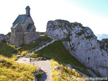 Das Wendelsteinkircherl ist die höchstgelegene Kirche Deutschlands