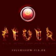 Logo Feuer in Bewegung- professionelle Feuershows