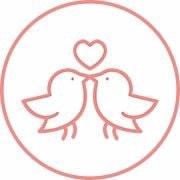 Logo WeddyBird Hochzeitshomepage